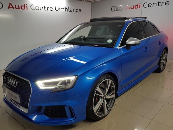 2018 Audi Rs3 Audi RS3 RS3 Sedan Quattro Kwazulu Natal Umhlanga Rocks_0