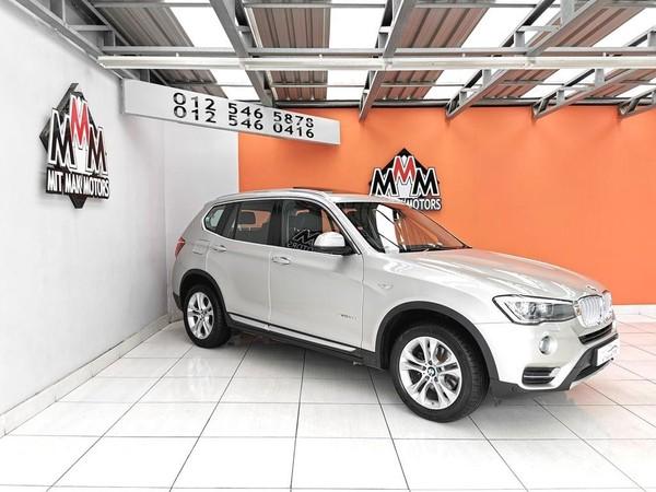 2014 BMW X3 xDRIVE20d xLINE Auto Gauteng Pretoria_0