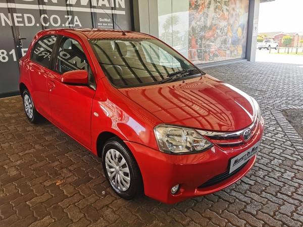 2016 Toyota Etios 1.5 Xs 5dr  Eastern Cape Port Elizabeth_0