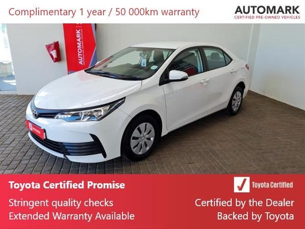 2020 Toyota Corolla Quest 1.8 Northern Cape Kimberley_0