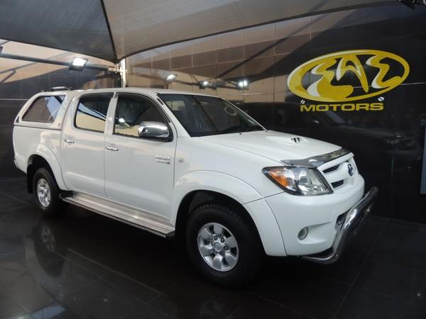 2005 Toyota Hilux 3.0d-4d Raider Pu Dc  Gauteng Vereeniging_0