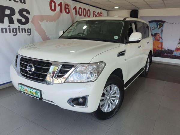 2018 Nissan Patrol 5.6 V8 LE Premium Gauteng Vereeniging_0