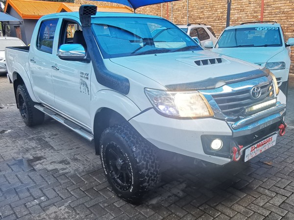 2011 Toyota Hilux 3.0 D-4d Heritage 4x4 At Pu Dc  North West Province Brits_0