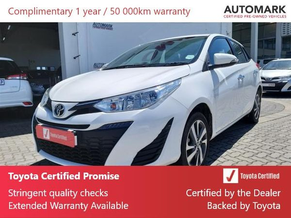 2020 Toyota Yaris 1.5 Xs CVT 5-Door Eastern Cape Mthatha_0