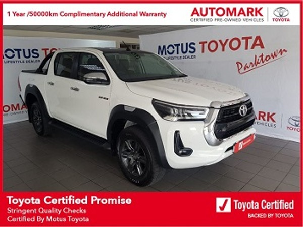 2020 Toyota Hilux 2.8 GD-6 RB Raider Auto Double Cab Bakkie Gauteng Johannesburg_0