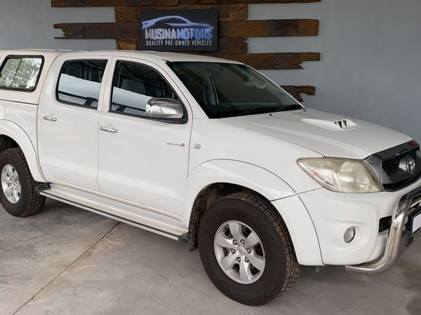 2010 Toyota Hilux 3.0d-4d Raider Rb At Pu Dc  Limpopo Musina_0