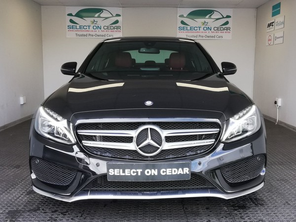 2016 Mercedes-Benz C-Class C250 Bluetec AMG Line Auto Gauteng Four Ways_0