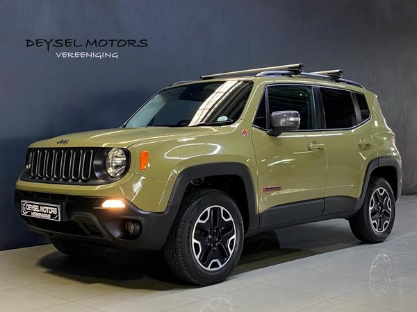 2016 Jeep Renegade 2.4 Trailhawk Auto Gauteng Vereeniging_0