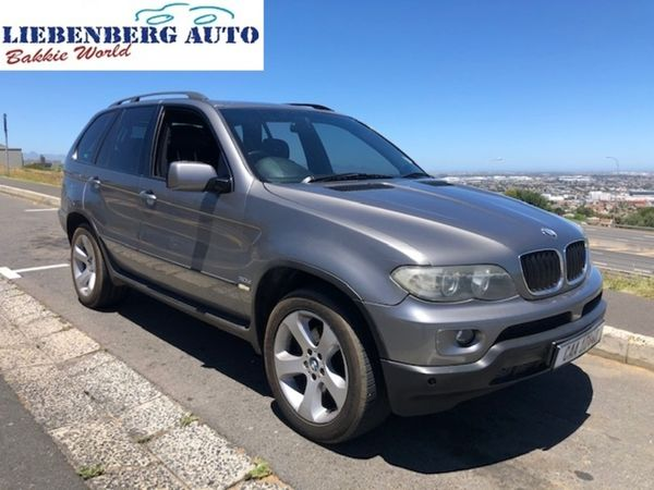 2007 BMW X5 3.0d Activity At  Western Cape Cape Town_0