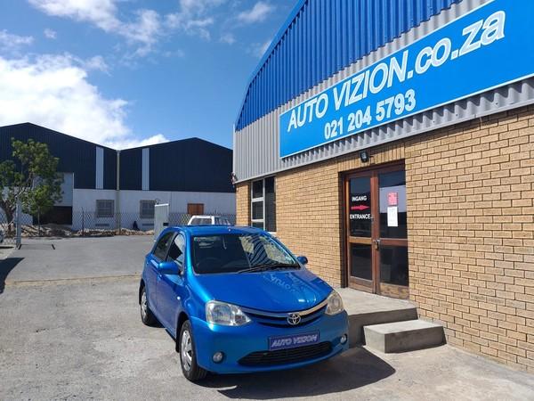 2012 Toyota Etios 1.5 Xs 5dr  Western Cape Brackenfell_0