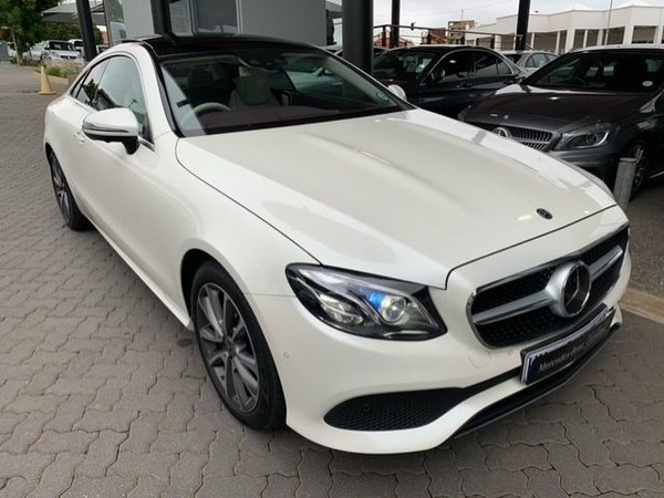 2018 Mercedes-Benz E-Class E 220d Coupe Gauteng Pretoria_0