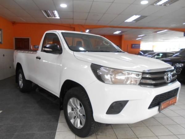 2017 Toyota Hilux 2.4 GD-6 RB SRX Single Cab Bakkie Kwazulu Natal Durban_0