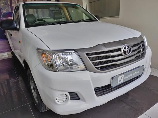 2015 Toyota Hilux 2.0 Vvti Pu Sc  Gauteng Midrand_0