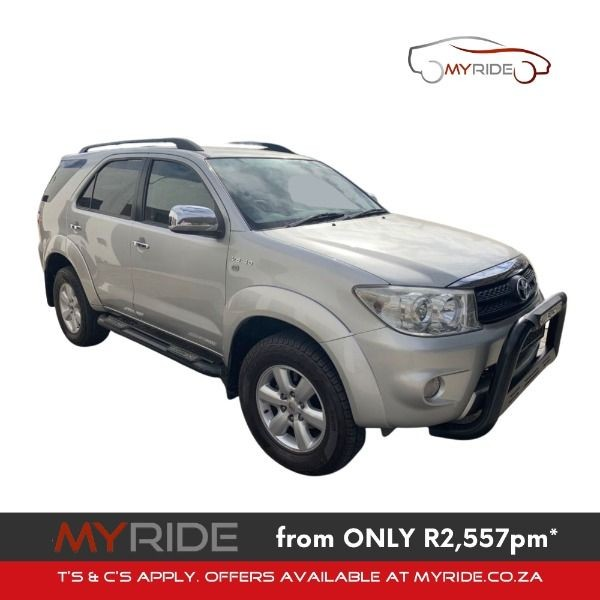 2009 Toyota Fortuner 4.0 V6 Epic Rb At  Western Cape Malmesbury_0
