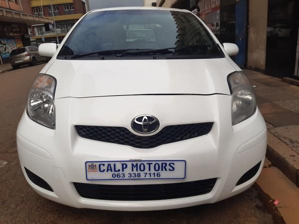 2011 Toyota Yaris Zen3  At  Gauteng Marshalltown_0
