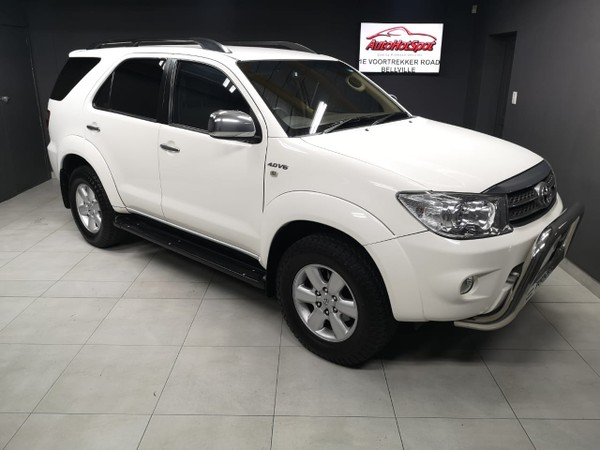 2010 Toyota Fortuner 4.0 V6 At  Western Cape Cape Town_0
