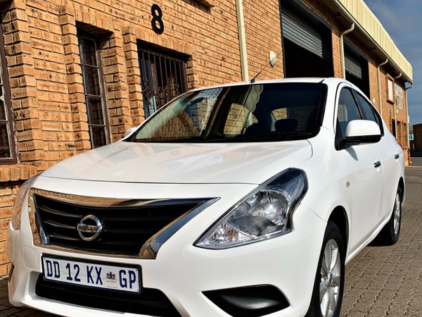 2014 Nissan Almera 1.5 Acenta Auto Gauteng Boksburg_0