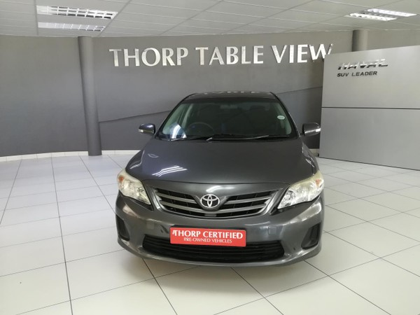 2011 Toyota Corolla 1.3 Professional  Western Cape Table View_0