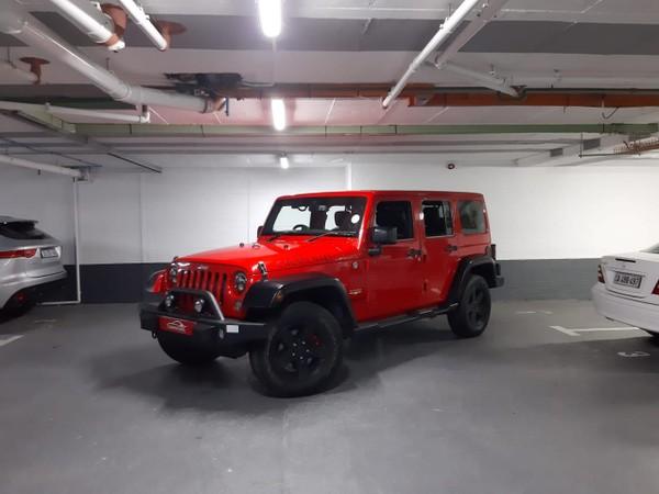 2016 Jeep Wrangler Unlimited 3.6l V6 At  Western Cape Western Cape_0