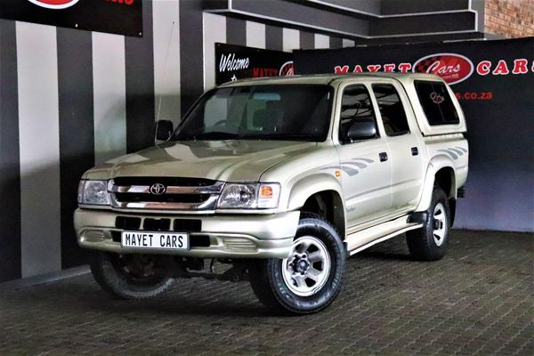 2004 Toyota Hilux 2700i Raider Rb Pu Dc  Mpumalanga Delmas_0