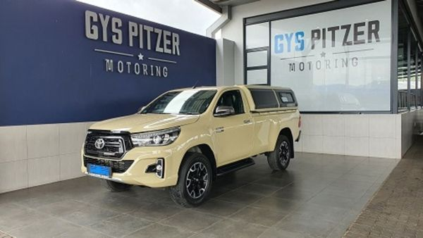 2020 Toyota Hilux 2.8 GD-6 Raider 4X4 Auto Single Cab Bakkie Gauteng Pretoria_0
