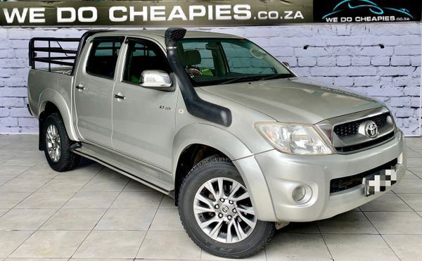 2010 Toyota Hilux 2.7 Vvti Raider Rb Pu Dc  Mpumalanga Acornhoek_0