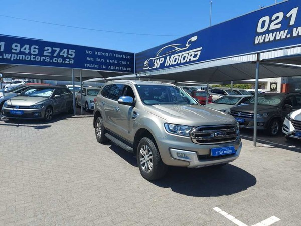 2017 Ford Everest 3.2 XLT 4X4 Auto Western Cape Bellville_0