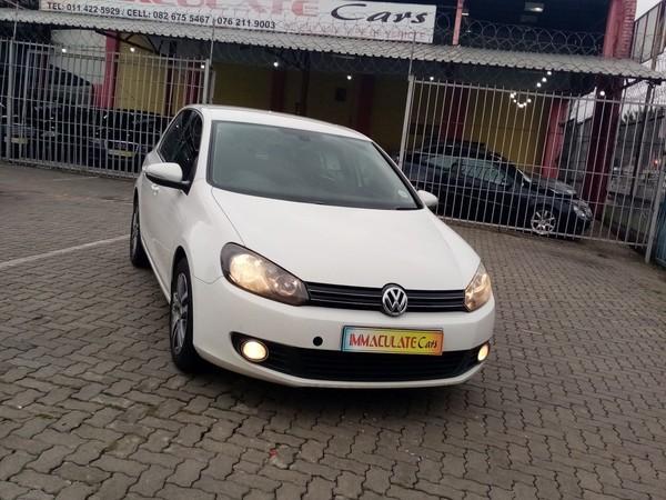 2011 Volkswagen Golf Vi 1.4 Tsi Comfortline  Gauteng Benoni_0