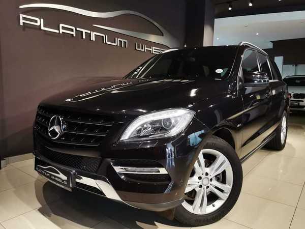 2012 Mercedes-Benz M-Class Ml 350 Bluetec  Gauteng Four Ways_0