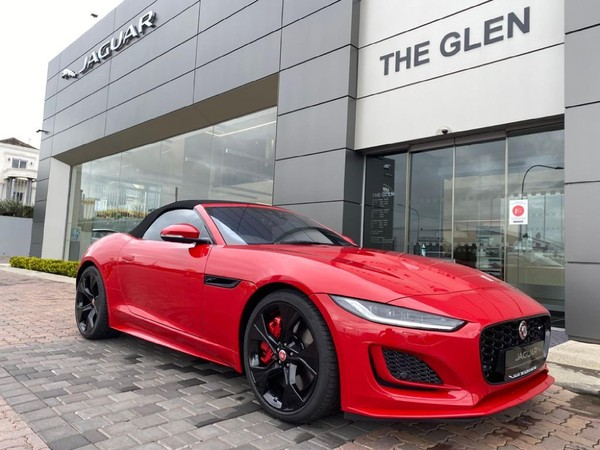 2021 Jaguar F-TYPE S 3.0 V6 Convertible R-Dynamic Auto Gauteng Alberton_0