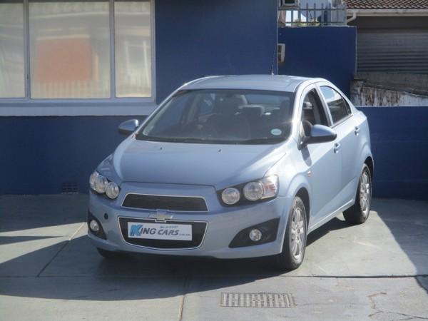 2012 Chevrolet Sonic 1.6 Ls  Eastern Cape Port Elizabeth_0