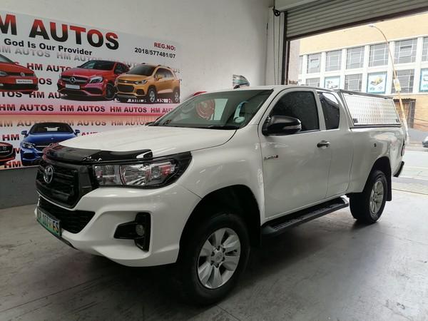 2017 Toyota Hilux 2.4 GD-6 SRX Extended Cab Bakkie Gauteng Johannesburg_0