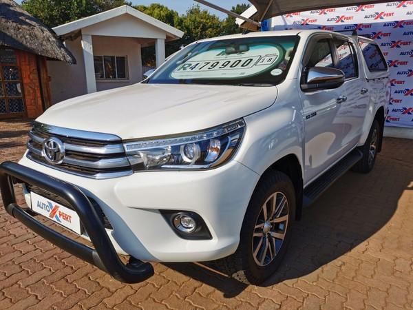 2018 Toyota Hilux 2.8 GD-6 Raider 4x4 Double Cab Bakkie Gauteng Centurion_0