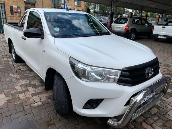 2016 Toyota Hilux 2.4 GD Single Cab Bakkie Gauteng Centurion_0