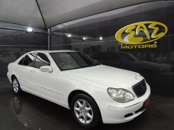2003 Mercedes-Benz S-Class S 350  Gauteng Vereeniging_0