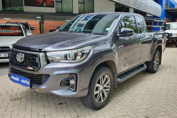 2018 Toyota Hilux 2.8 GD-6 RB Raider 4x4 Extra Cab Bakkie Auto Mpumalanga Nelspruit_0