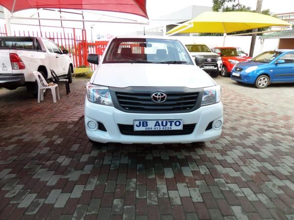 2012 Toyota Hilux 2.0 Vvti Pu Sc  Gauteng Bramley_0