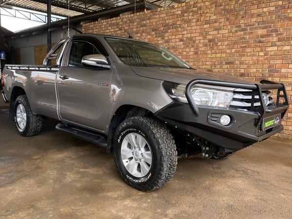 2017 Toyota Hilux 2.8 GD-6 Raider 4x4 Single Cab Bakkie Gauteng Pretoria_0