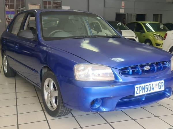 2001 Hyundai Accent 1.3 Ls  Gauteng Springs_0