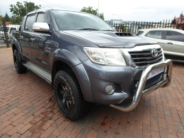 2013 Toyota Hilux 3.0 D-4d Raider 4x4 At Pu Dc  Gauteng Bramley_0
