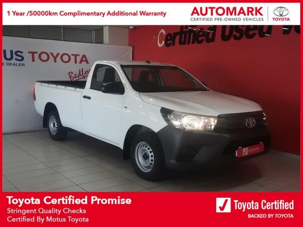 2021 Toyota Hilux 2.0 VVTi AC Single Cab Bakkie Gauteng Edenvale_0