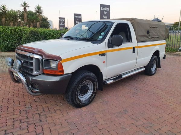 2006 Ford F-Series F250 4.2 TDI 4X2 Single cab Bakkie Gauteng Centurion_0