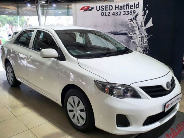 2018 Toyota Corolla Quest 1.6 Auto Gauteng Hatfield_0