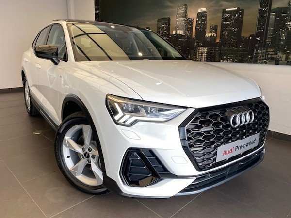 2021 Audi Q3 Sportback 2.0T FSI Quat STRON S Line 40 TFI Free State Bloemfontein_0
