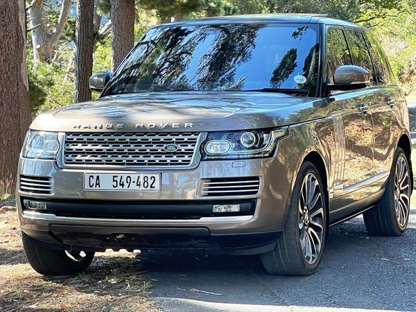 2015 Land Rover Range Rover VOGUE Western Cape Cape Town_0