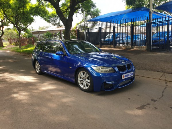 2007 BMW 3 Series 320d Touring Sport At e91  Gauteng Pretoria West_0