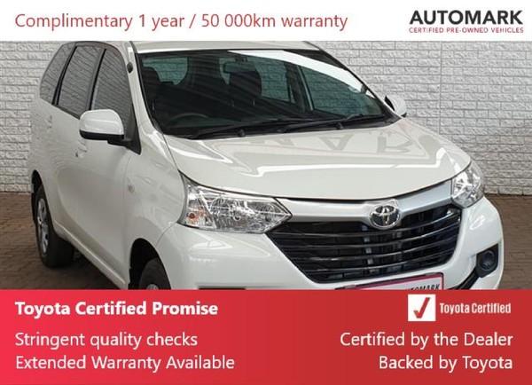 2020 Toyota Avanza 1.3 FC PV Gauteng Boksburg_0