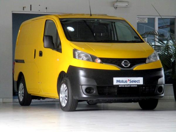 2017 Nissan NV200 1.5dCi Visia FC Panel van Western Cape George_0