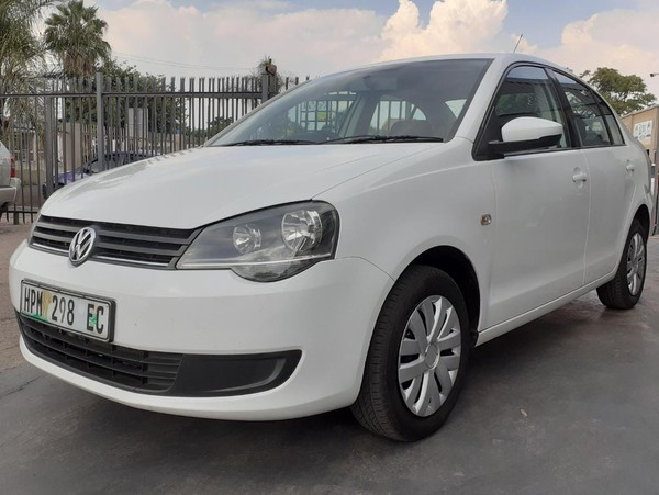 2015 Volkswagen Polo Vivo GP 1.6 Trendline North West Province Brits_0