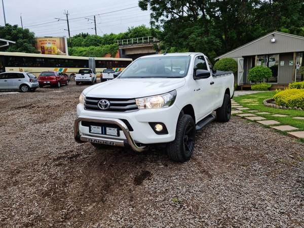 2016 Toyota Hilux 2.4 GD-6 RB SRX Single Cab Bakkie Mpumalanga Nelspruit_0